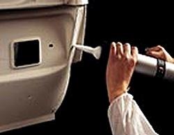 Лента для герметизации стыка трубы и крыши